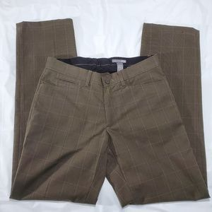 H&M Brown patterned pants size 30R